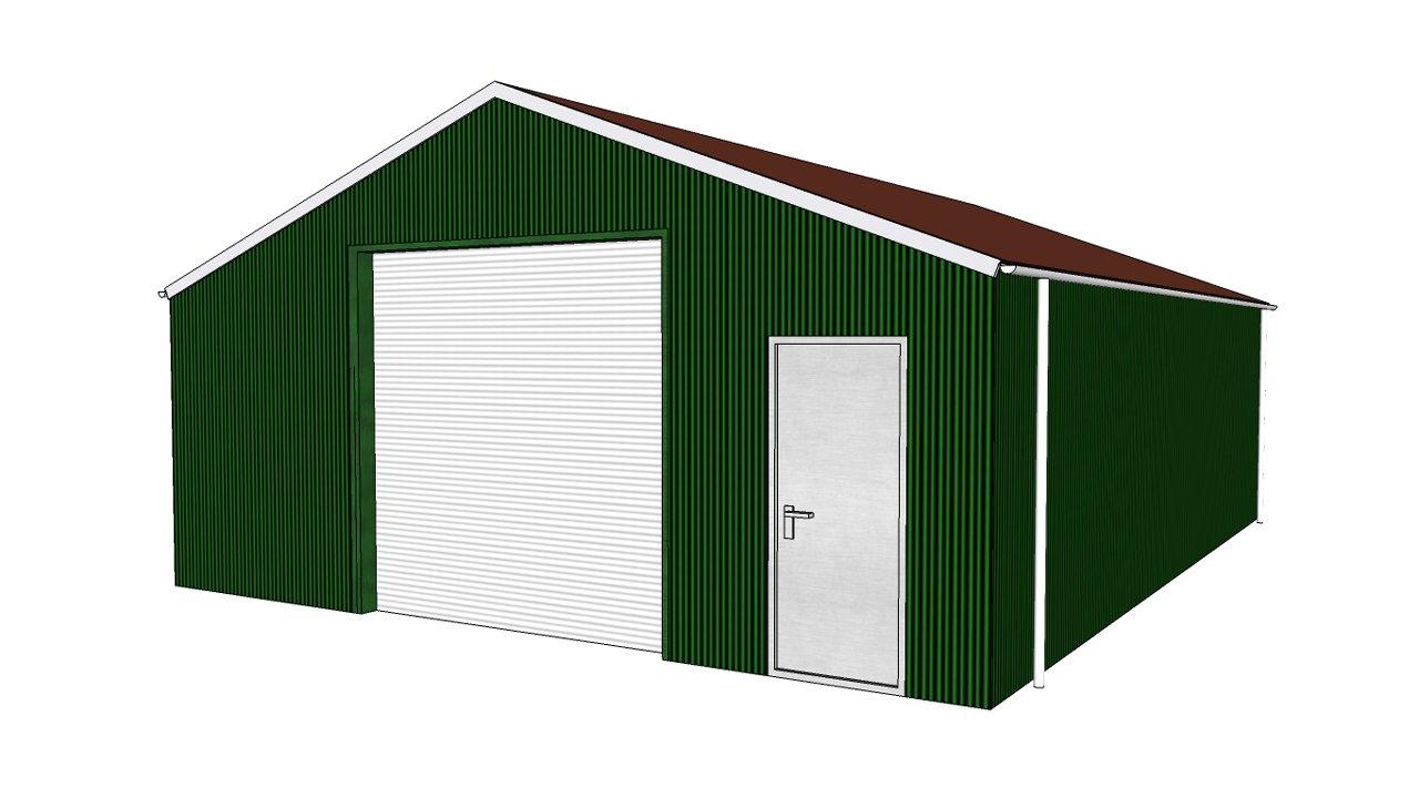 Finish Building Zelfbouwloods 7 X 20 X 4m