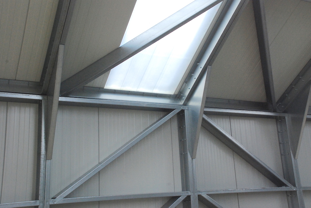 Lichtplaten Finish Building