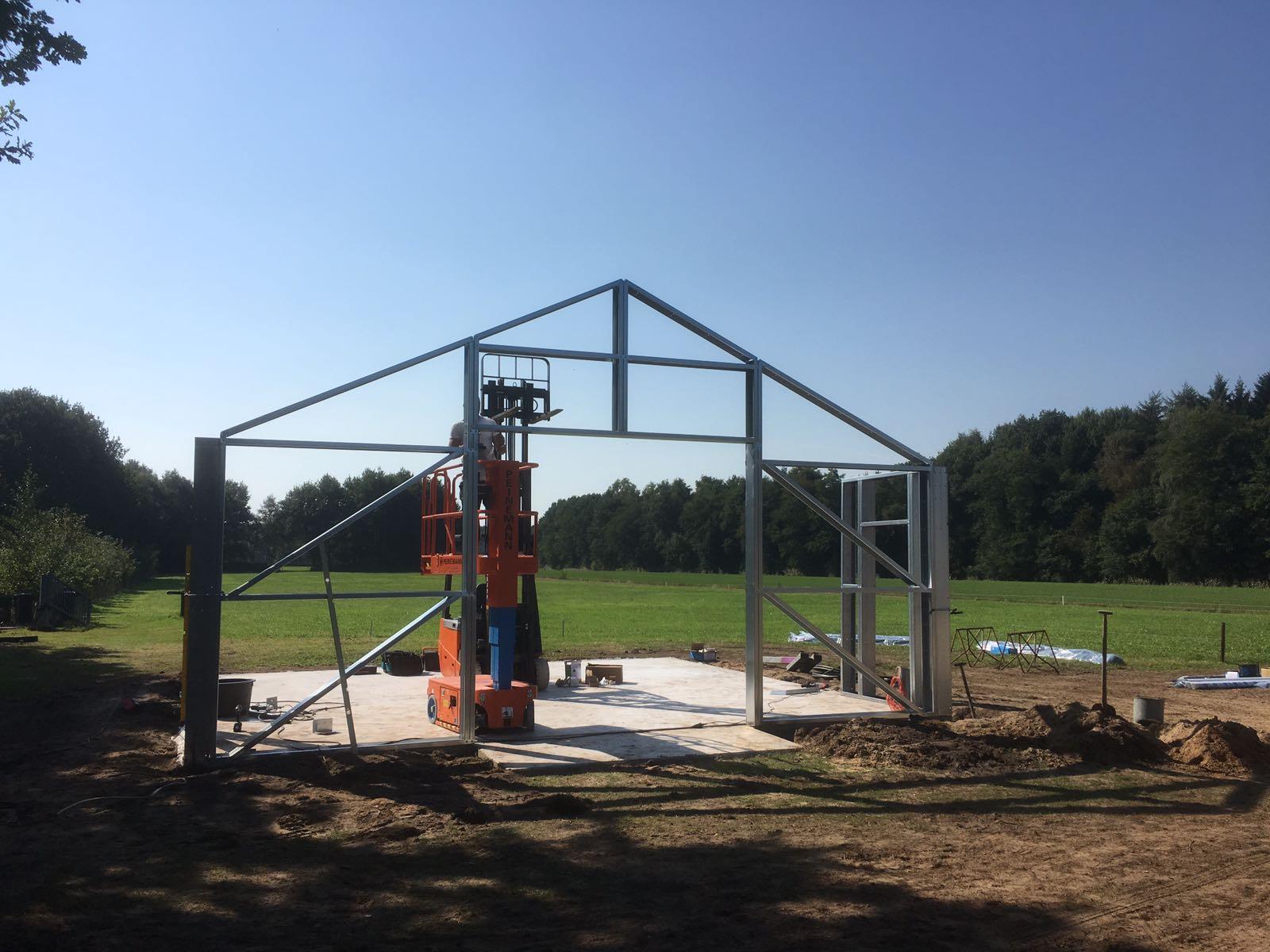 Loods bouwen